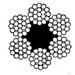 Stahlseil-6x19fe